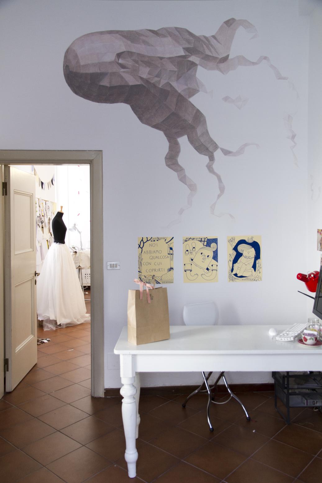 decorazione, wall paint